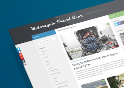 Motorcycle Travel Gear