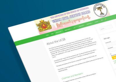Union Civil Service Board of Myanmar