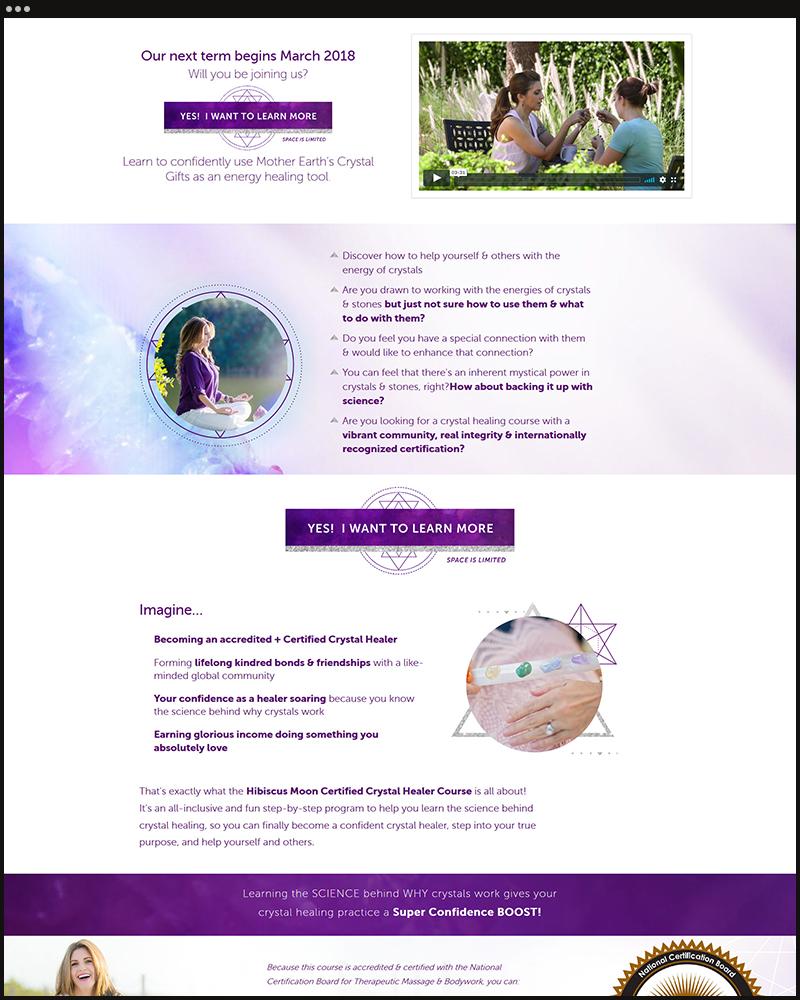 Hibiscus Moon Crystal Academy Luisten